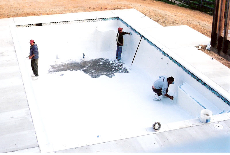 Inground Pool Construction