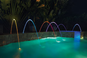 Water Special Effects for Pool